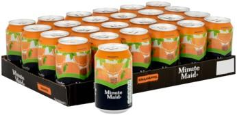 Minute Maid Jus d'orange (24 x 330 ml)