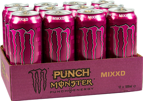 Monster Energy Mixxd Punch (12 x 500 ml)