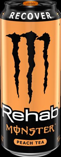 Monster Energy Rehab Peach Tea (1 x 458 ml)