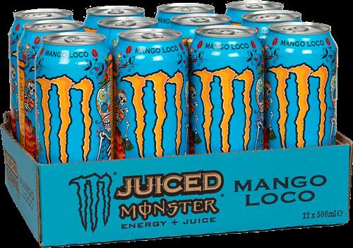 Monster Energy Juiced Mango Loco (12 x 500 ml)