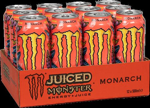 Monster Energy Juiced Monarch (12 x 500 ml)