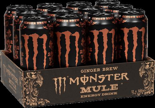 Monster Mule Ginger Brew (12 x 500 ml)