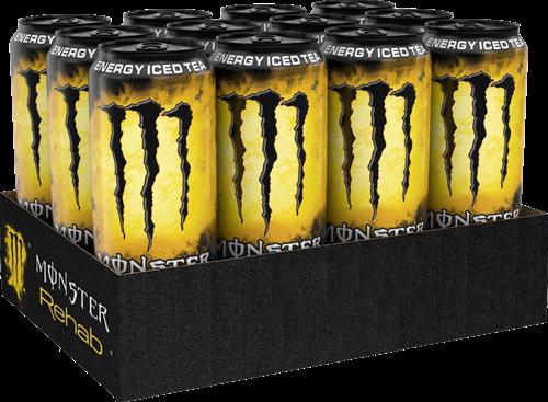 Monster Energy Rehab Tea + Lemonade (12 x 500 ml)