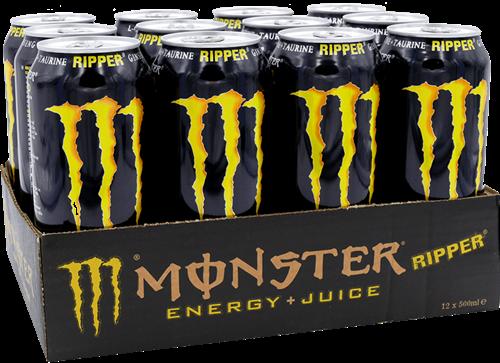 Monster Energy Juiced Ripper (12 x 500 ml)