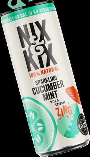 Nix & Kix Cucumber Mint (24 x 250 ml)