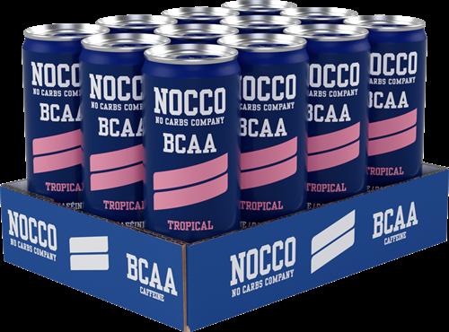 Nocco BCAA Tropical (12 x 330 ml)