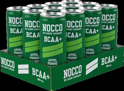 Nocco BCAA+ Caffeine Free Apple (12 x 250 ml)