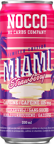 Nocco BCAA Miami Strawberry (1 x 330 ml)