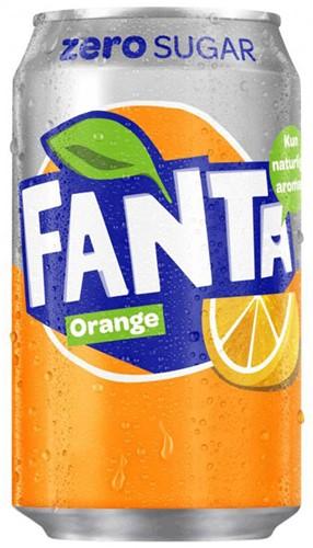 Fanta Zero Orange (24 x 330 ml)