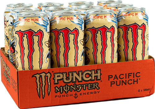 Monster Energy Pacific Punch (12 x 500 ml)