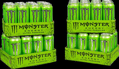 Monster Energy Ultra Paradise 4 Pack (48 x 500 ml)