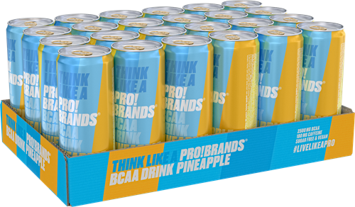 AminoPro Drink Pineapple (24 x 330 ml)