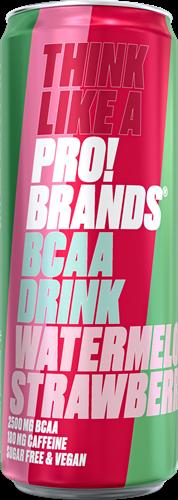 AminoPro Drink Watermelon Strawberry (1 x 330 ml)