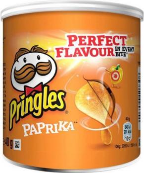 Pringles Paprika (12 x 40 gr)