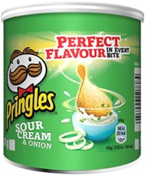 Pringles Sour Cream & Onion (12 x 40 gr)