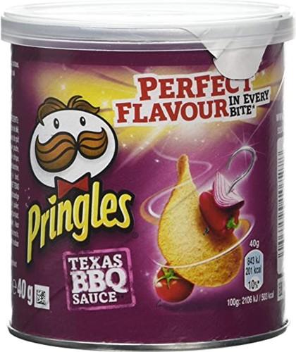 Pringles Texas BBQ sauce (12 x 40 gr)