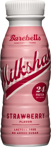 Barebells Milkshake Strawberry (1 x 330 ml)