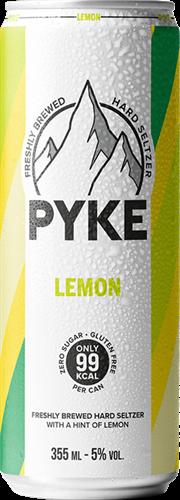 Pyke Hard Seltzer Lemon (1 x 355 ml)