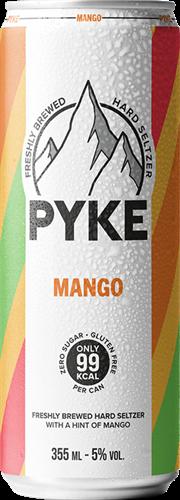 Pyke Hard Seltzer Mango (1 x 355 ml)