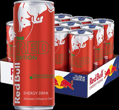 Red Bull Red Edition Watermeloen (12 x 250 ml)