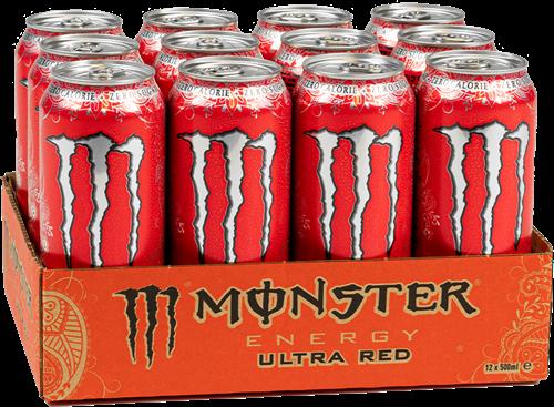 Monster Energy Ultra Red (12 x 500 ml)