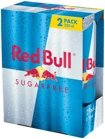 Red Bull Sugar Free 2 Pack (2 x 250 ml)