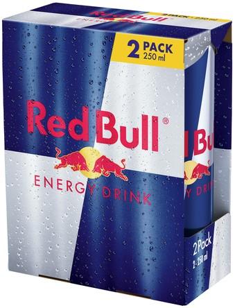 Red Bull 2-Pack (2 x 250 ml)