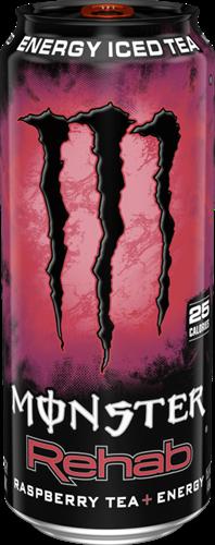 Monster Energy Rehab Raspberry (1 x 458 ml)