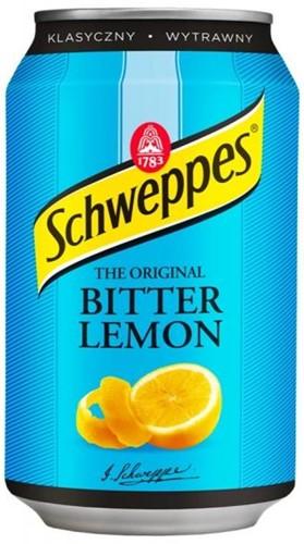 Schweppes Bitter Lemon (24 x 330 ml)