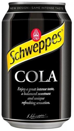 Schweppes Cola (24 x 330ml)