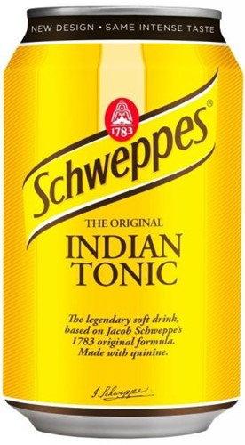 Schweppes Indian Tonic (24 x 330 ml)