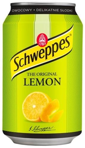 Schweppes Lemon (24 x 330 ml)