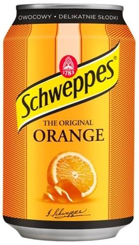 Schweppes Orange (24 x 330 ml)