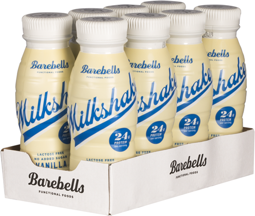 Barebells Milkshake Vanilla (8 x 330 ml)
