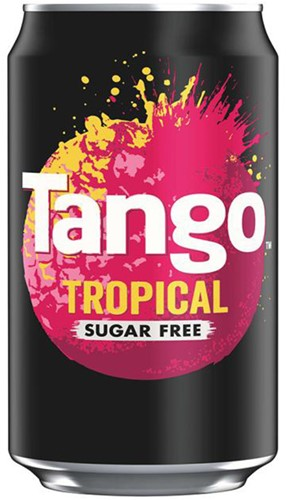 Tango Sugar Free Tropical (24 x 330 ml)