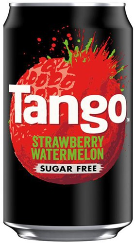 Tango Sugar Free Strawberry Watermelon (24 x 330 ml)