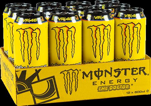 Monster Energy The Doctor (12 x 500 ml)