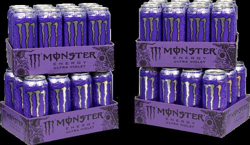 Monster Energy Ultra Violet 4 Pack (48 x 500 ml)