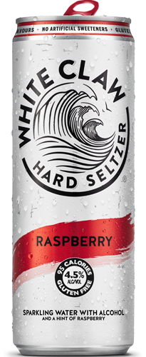 White Claw Hard Seltzer Raspberry (1 x 330 ml)