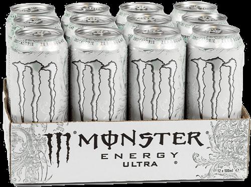 Monster Energy Ultra White (12 x 500 ml)