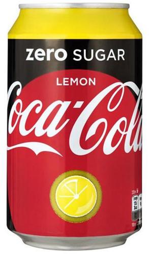 Coca Cola Zero Lemon (24 x 330 ml)