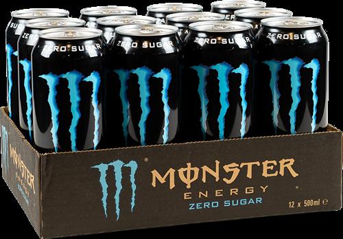 Monster Energy Absolutely Zero (12 x 500 ml)